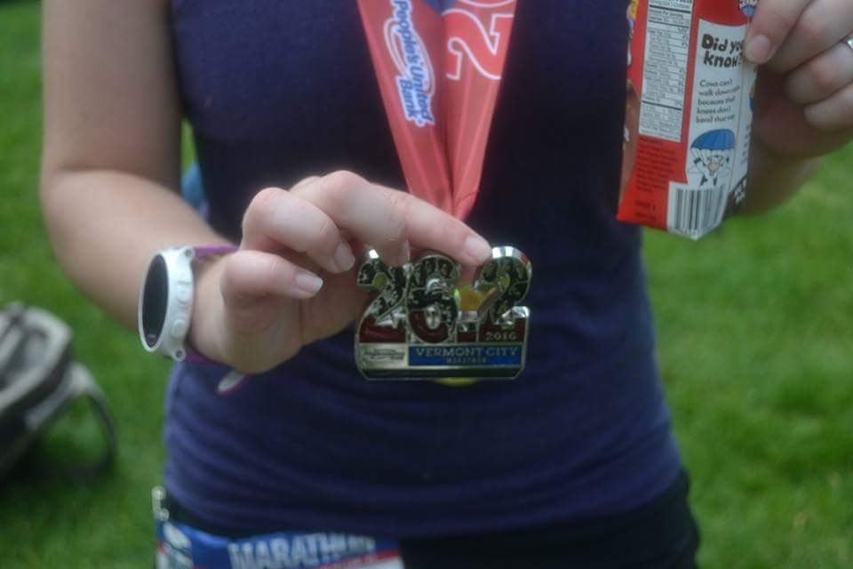 ashley with medal