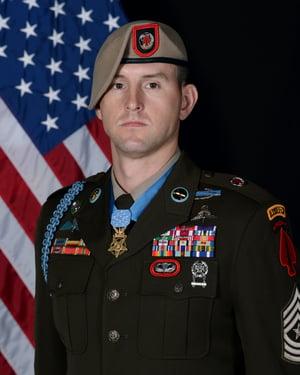 Sergeant Major Thomas P. Payne '17 portrait