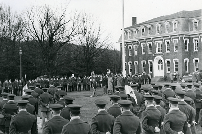 Norwich_University_Armistice_Day_observation_1950.png