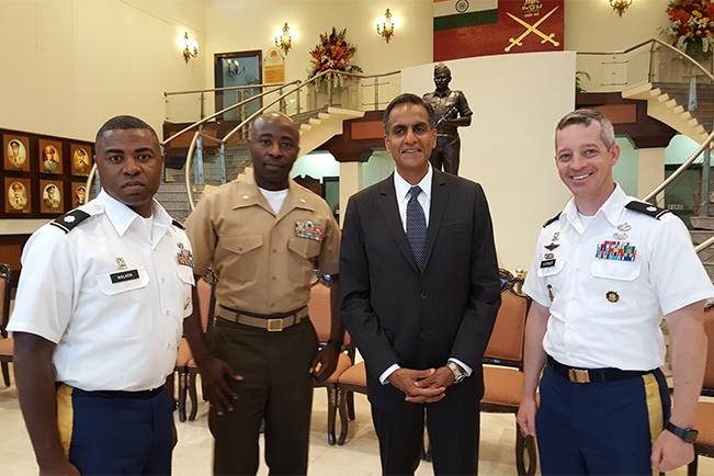 diplomacy alumnus teaches united peacekeeping course, tony walker