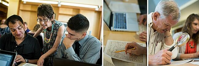 Norwich University From Cursive to Keyword, Transcribing Sessions
