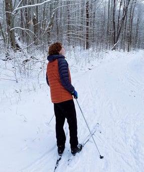 Kelso Horne hiking