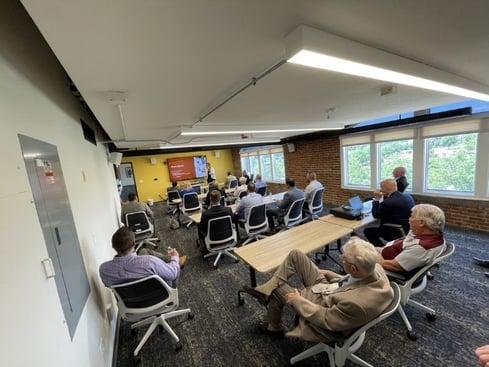 Norwich Pro at Denver office presentation