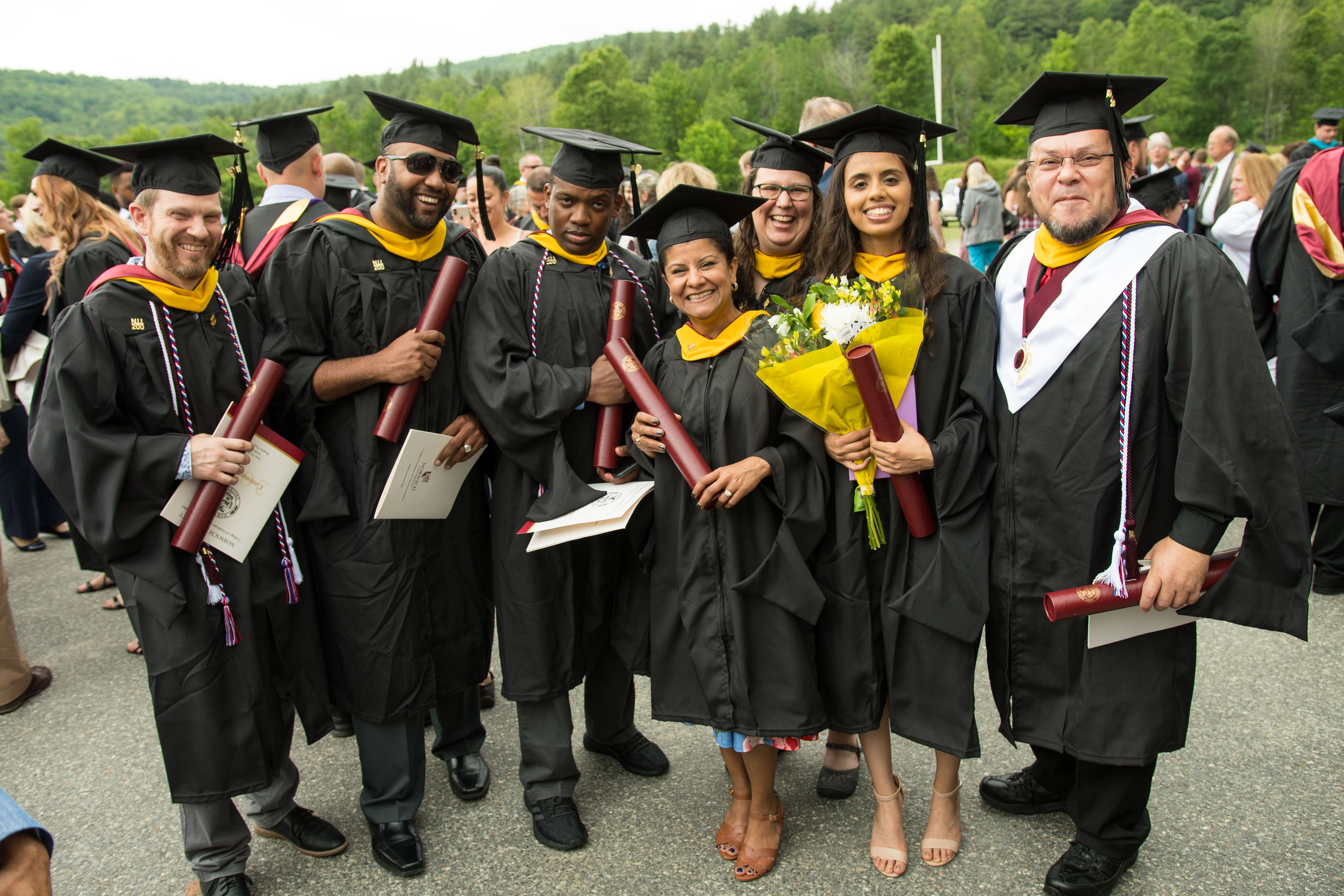 class of 2019 at commencement