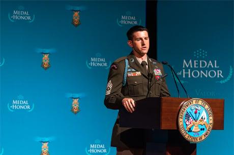 medal of honor payne, speaking